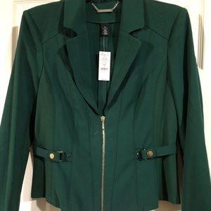Bottle green blazer